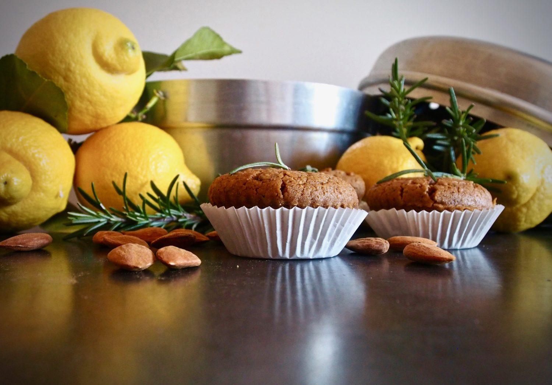 Muffin limone, rosmarino e felicità